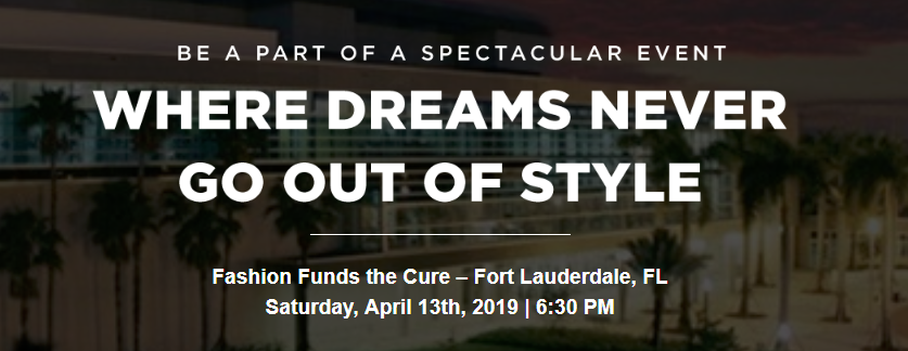 Fashion Funds the Cure - Fort Lauderdale, FL